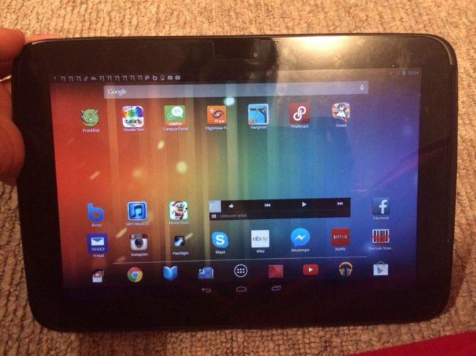 Samsung Google Nexus 10 Android Tablet