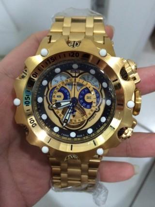 Invicta Venom gold Relogio brand