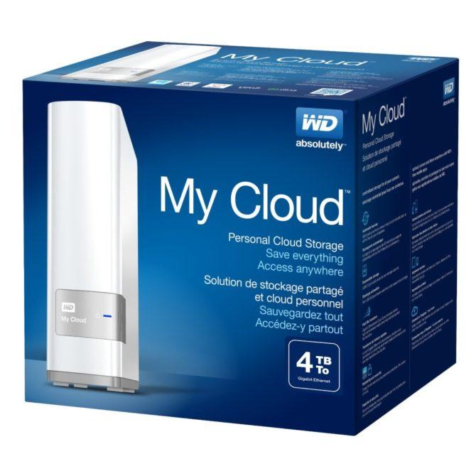 Huge Hard Drive Storage: WD My Cloud 4TB, 8TB Physical and Cloud Storage