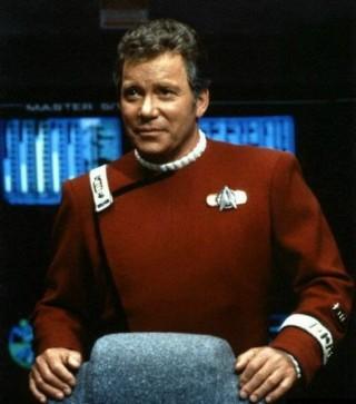 willam shatner as captain kirk