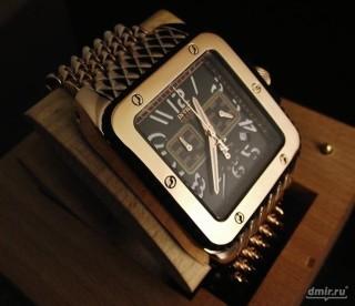 square luxury watch