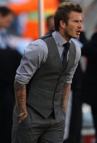david beckham mens fashion