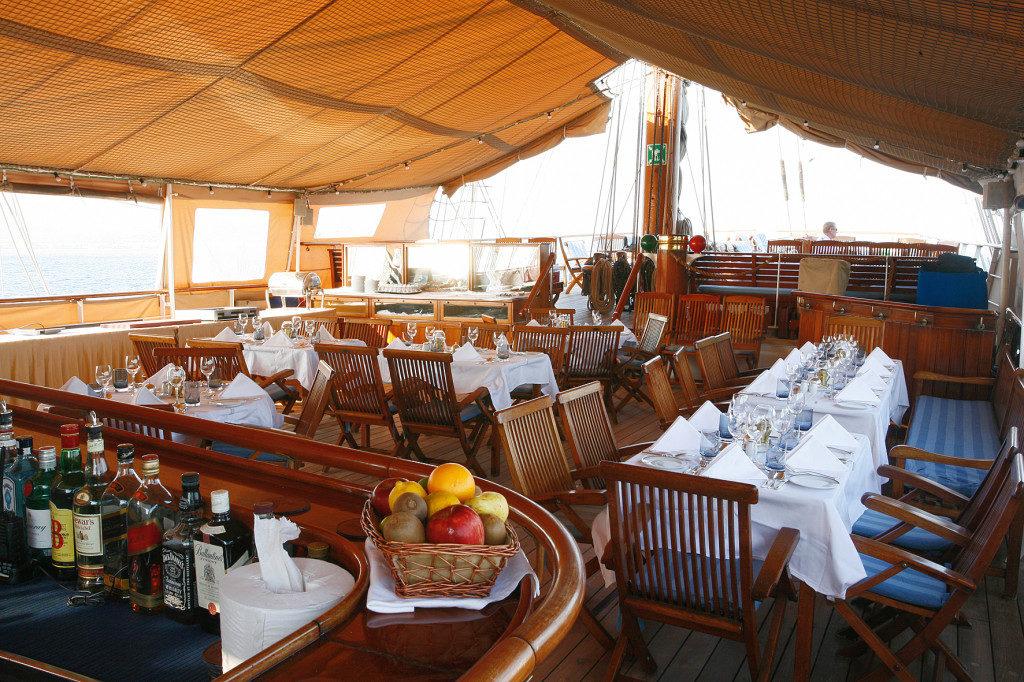sea cloud cabin deck