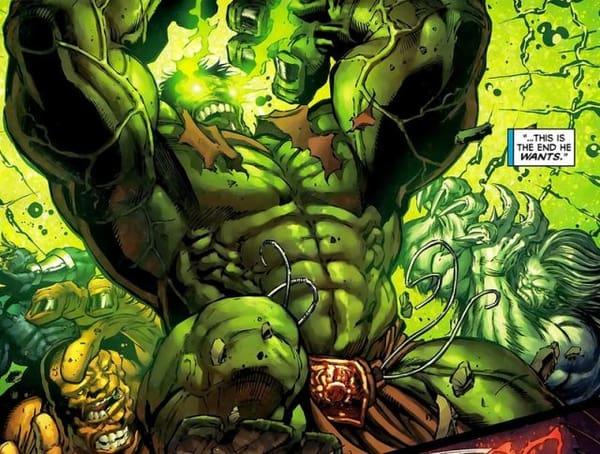 Hulk enraged beyond all reason