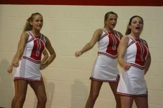 cheerleaders in uniform